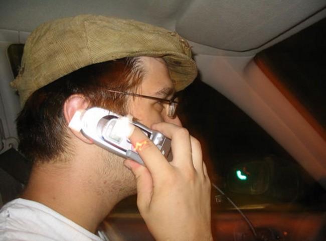 Uso del móvil en el coche