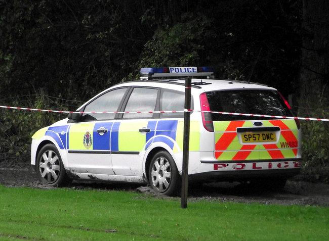 Policía en Escocia