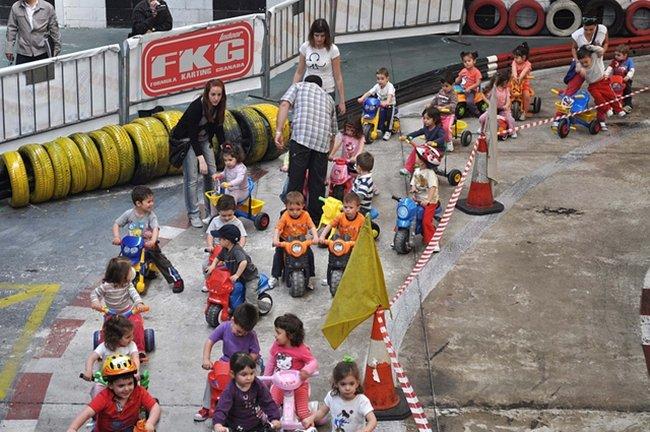Educación vial por kartingmotor