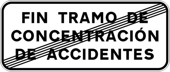Fin de Tramo de Concentración de Accidentes, TCA