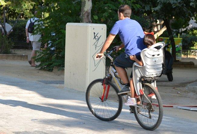 bici con sillita