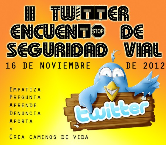 II Twitter Encuentro Seguridad Vial