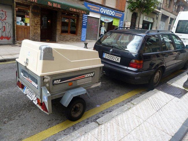 BMW con remolque por Gonmi