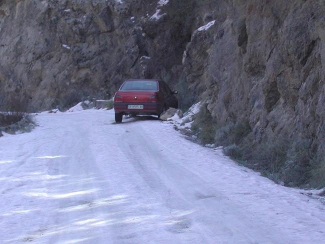 Accidente nieve