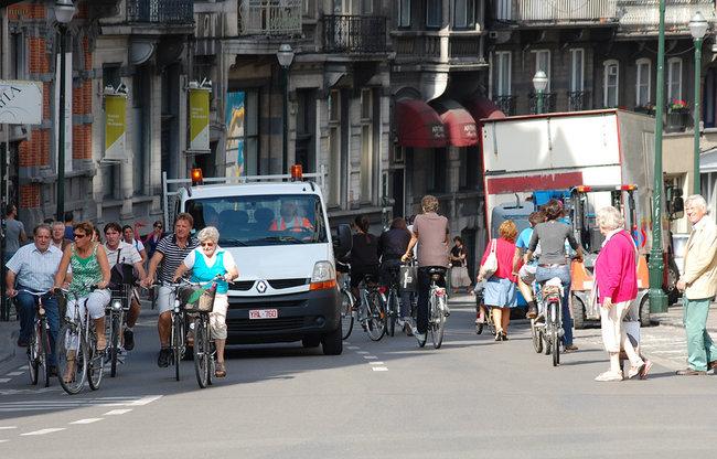 Circulación de ciclistas