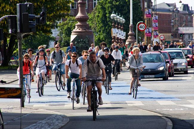 Circulación de bicicletas