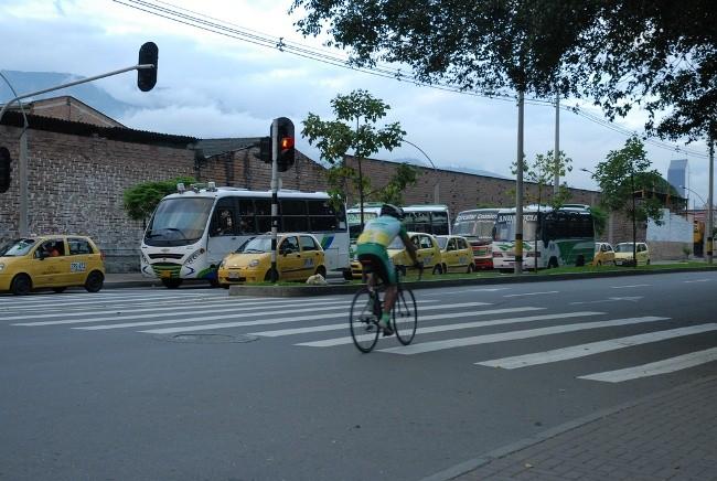Ciclista por la ciudad