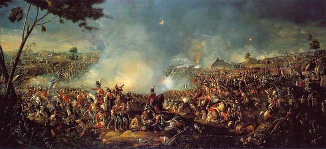 Batalla de Waterloo, 1815