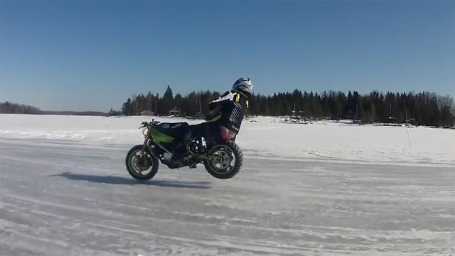 Accidente sobre hielo