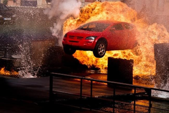 Explosión Hollywood