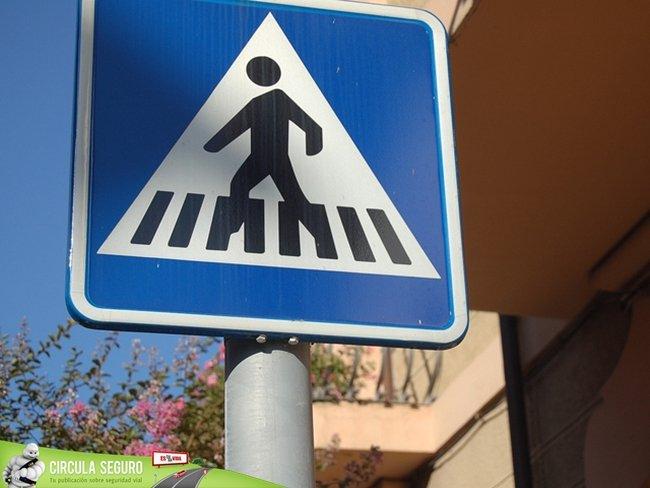 S-13: Situación de paso de peatones