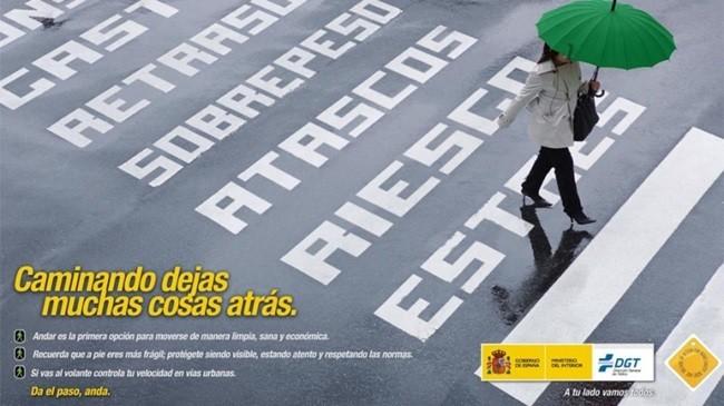 Campaña DGT peatones