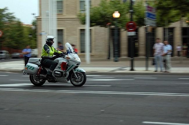 Motorista Guardia Civil