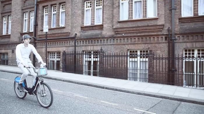 Casco de papel para bici