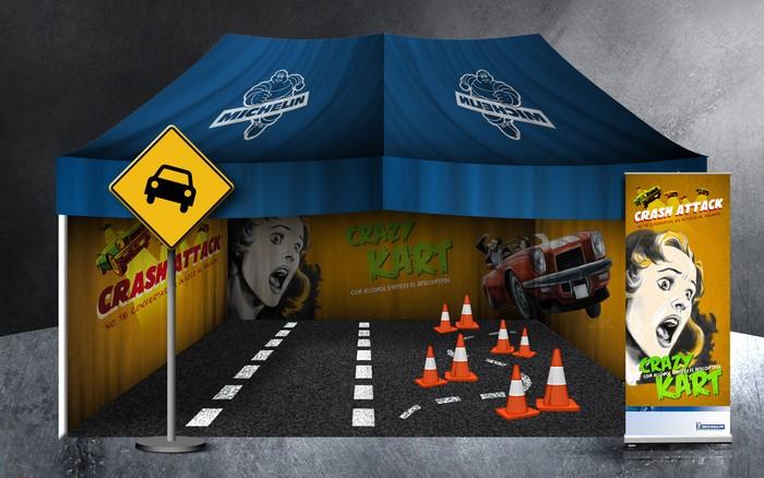 Crash Attack - Michelin - Plan joven Seguridad Vial