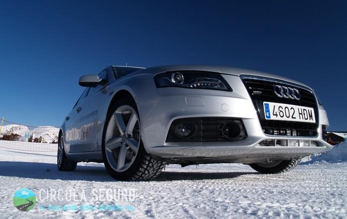 Si el coche monta neumáticos de invierno no hay que colocar cadenas