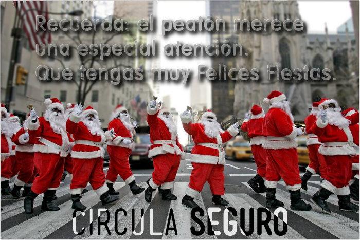 Circula Seguro - Felices Fiestas