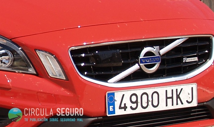Antena Radar Volvo frenado automático
