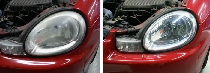 El pulido de los faros la opci n de bajo coste para - Como pulir faros de coche ...