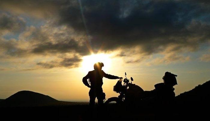 En moto, objetivo cero