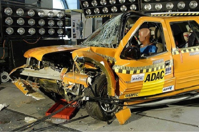 Jiangling Landwind - crash test - coches made in china