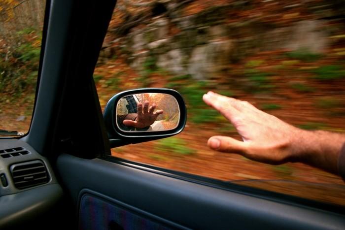 Brazo en ventanilla