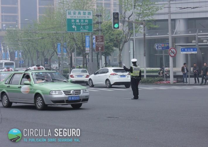 Circulación en Shanghái