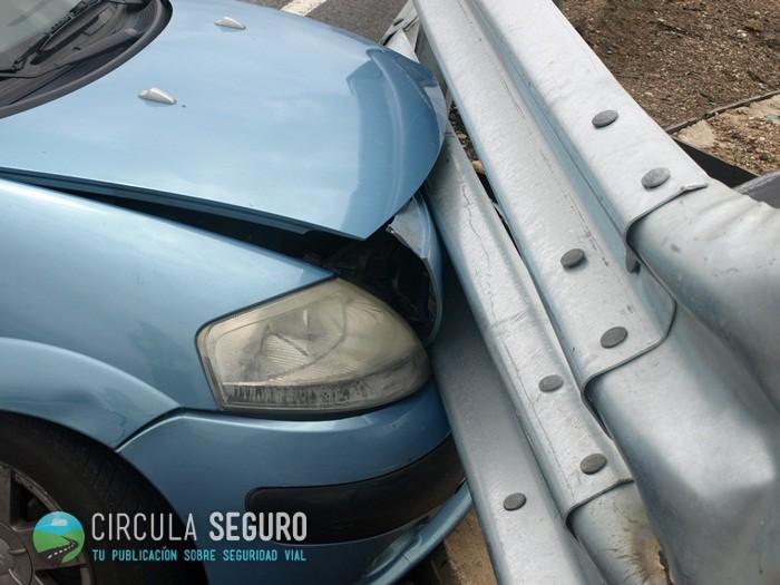 La barrera lateral de seguridad semirrígida protege frente a las salidas de vía