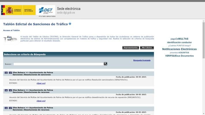 testra como consultar multas de trafico en internet