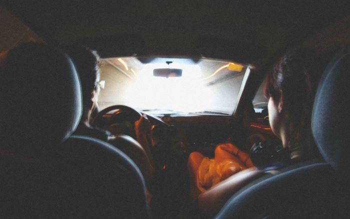 tunel vista conducir