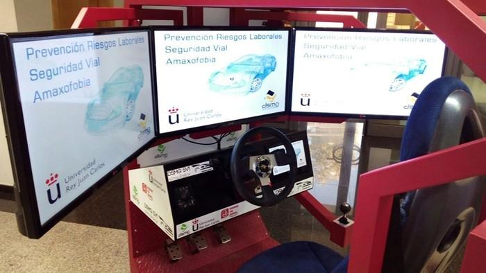 simulador de conducción 2