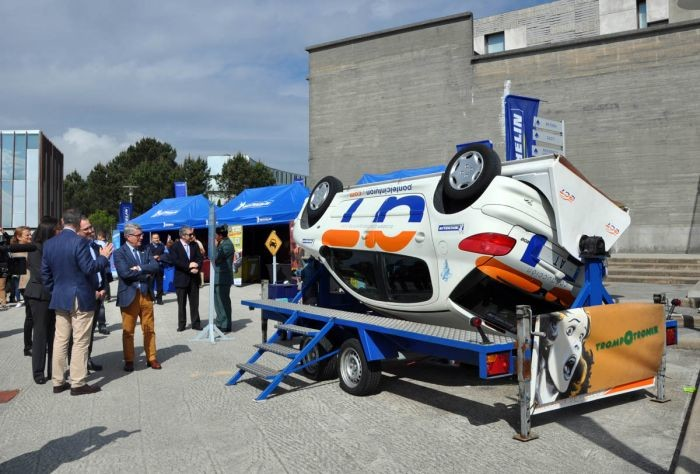 Plan joven Crash Attack de Michelin
