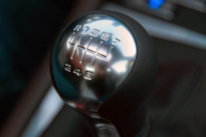 Cambio manual de 7 velocidades