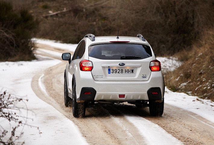 Conducir con nieve, hielo y viento