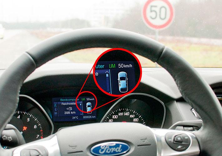 Asistente de Velocidad Inteligente de Ford