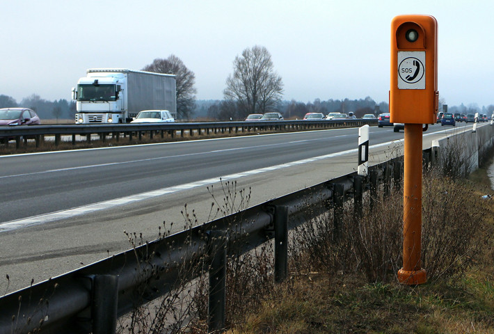 Autopista Unión Europea SOS