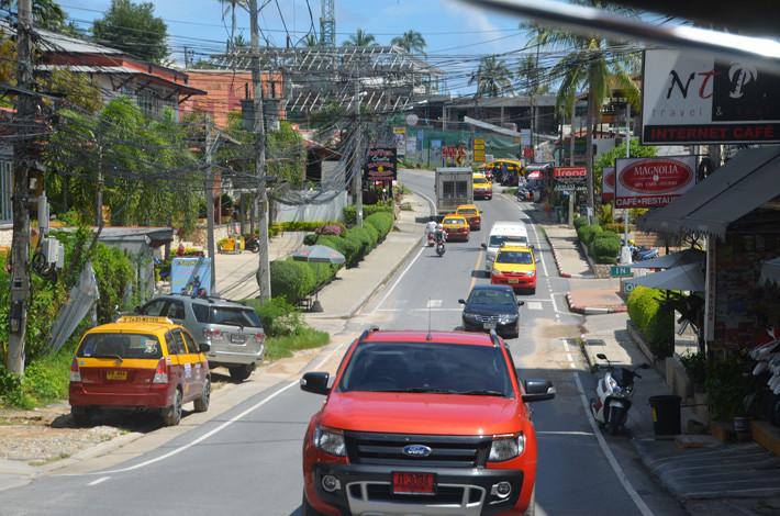 tráfico tailandia