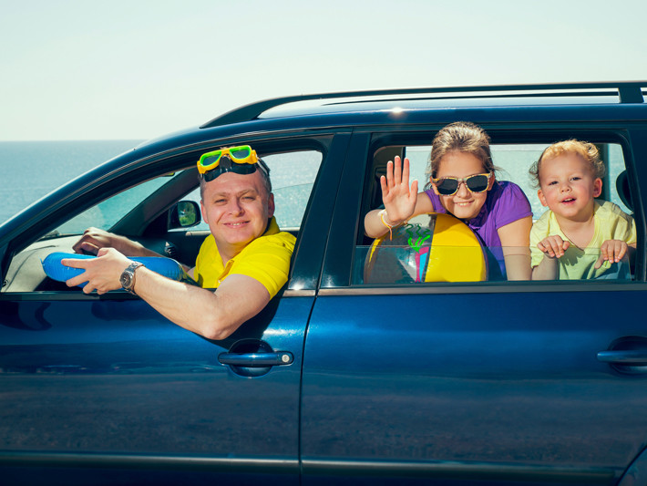 Familia de vacaciones