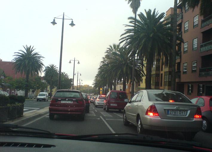 Congestión de tráfico