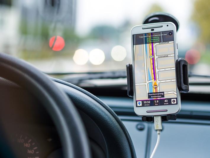 app movil de navegación