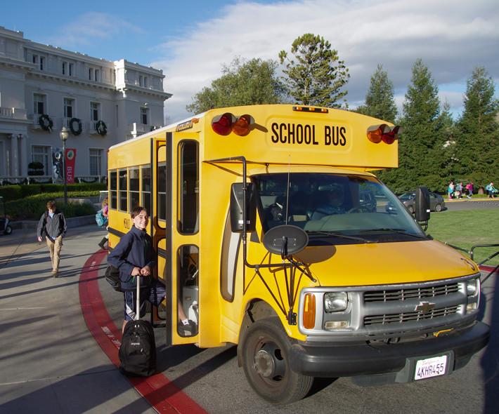 Trnasporte en autobus