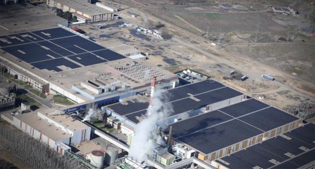 Fábrica de Michelin en Valladolid