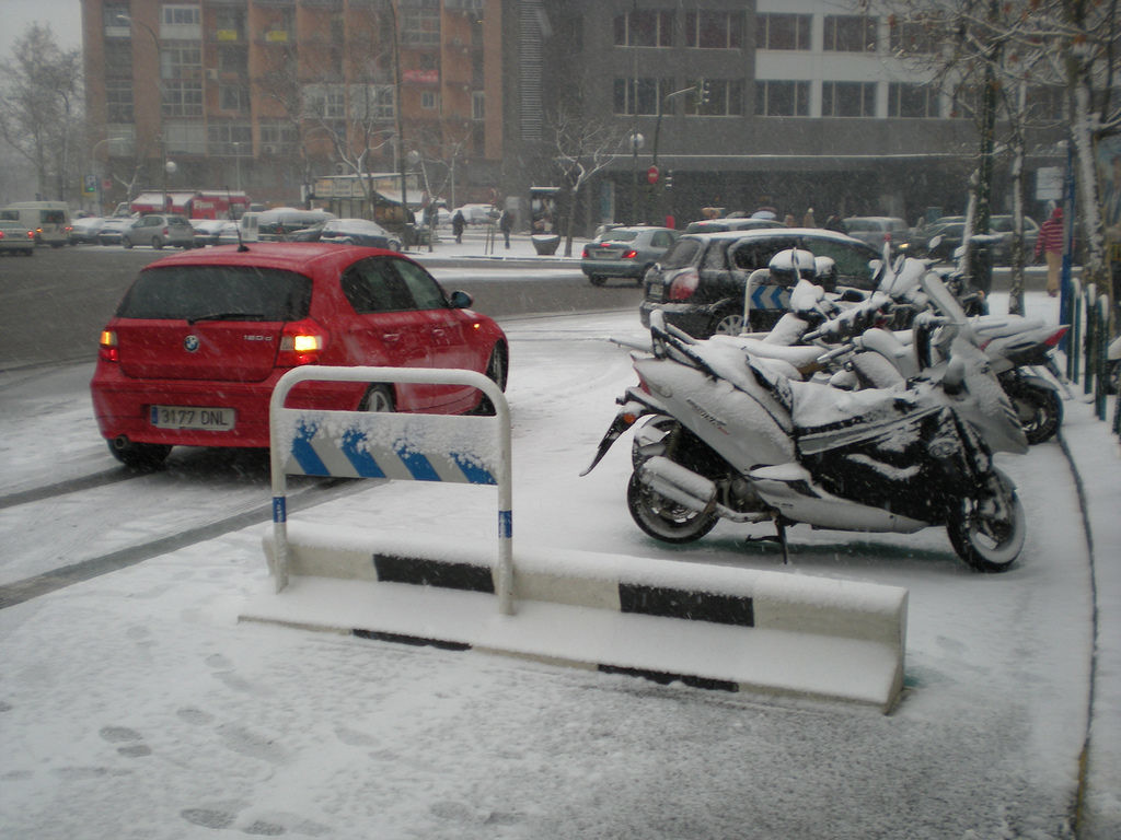 moto-nieve