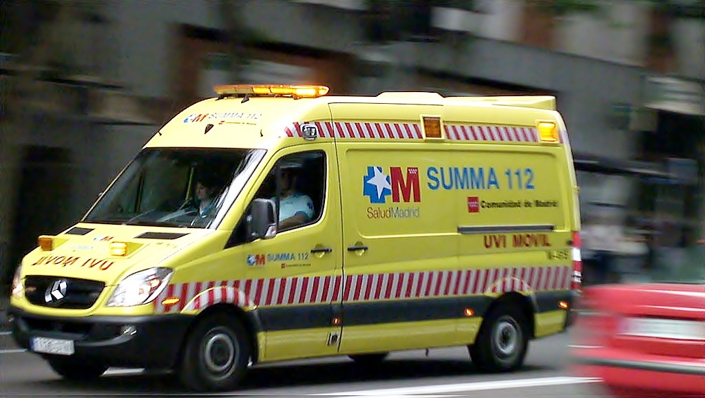 ambulancia 112 madrid