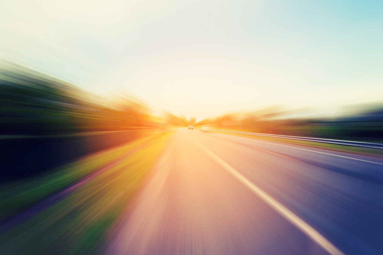 carretera rapidez