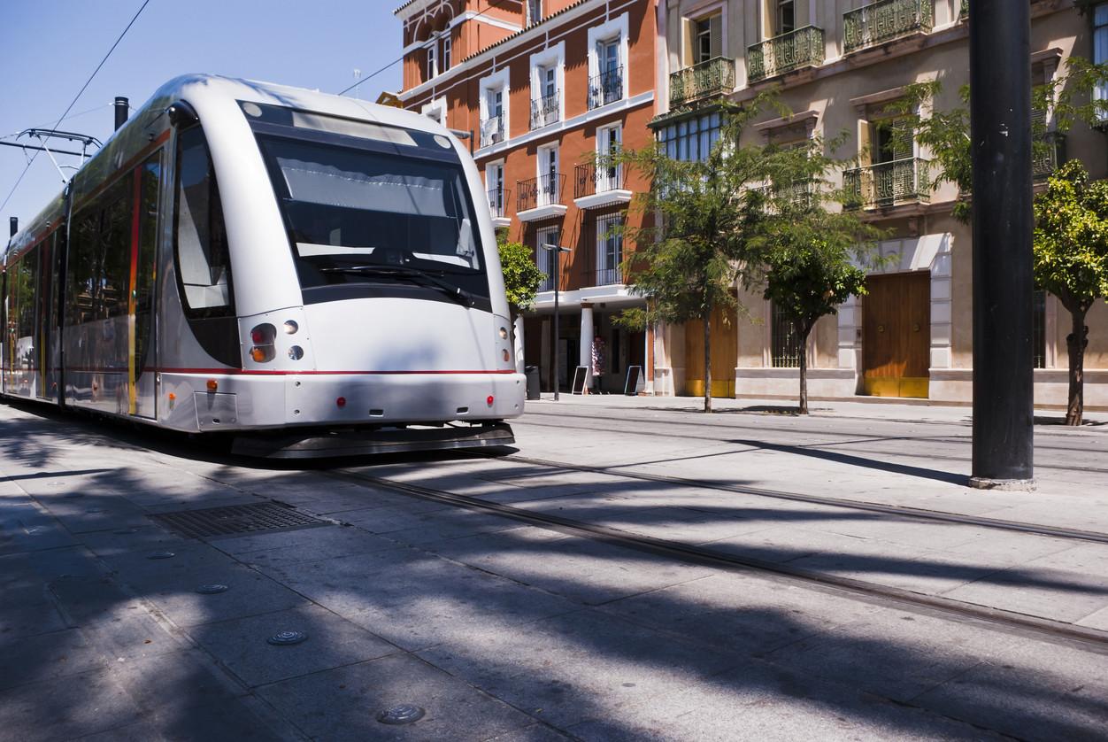 tranvia electrico transporte ecologico