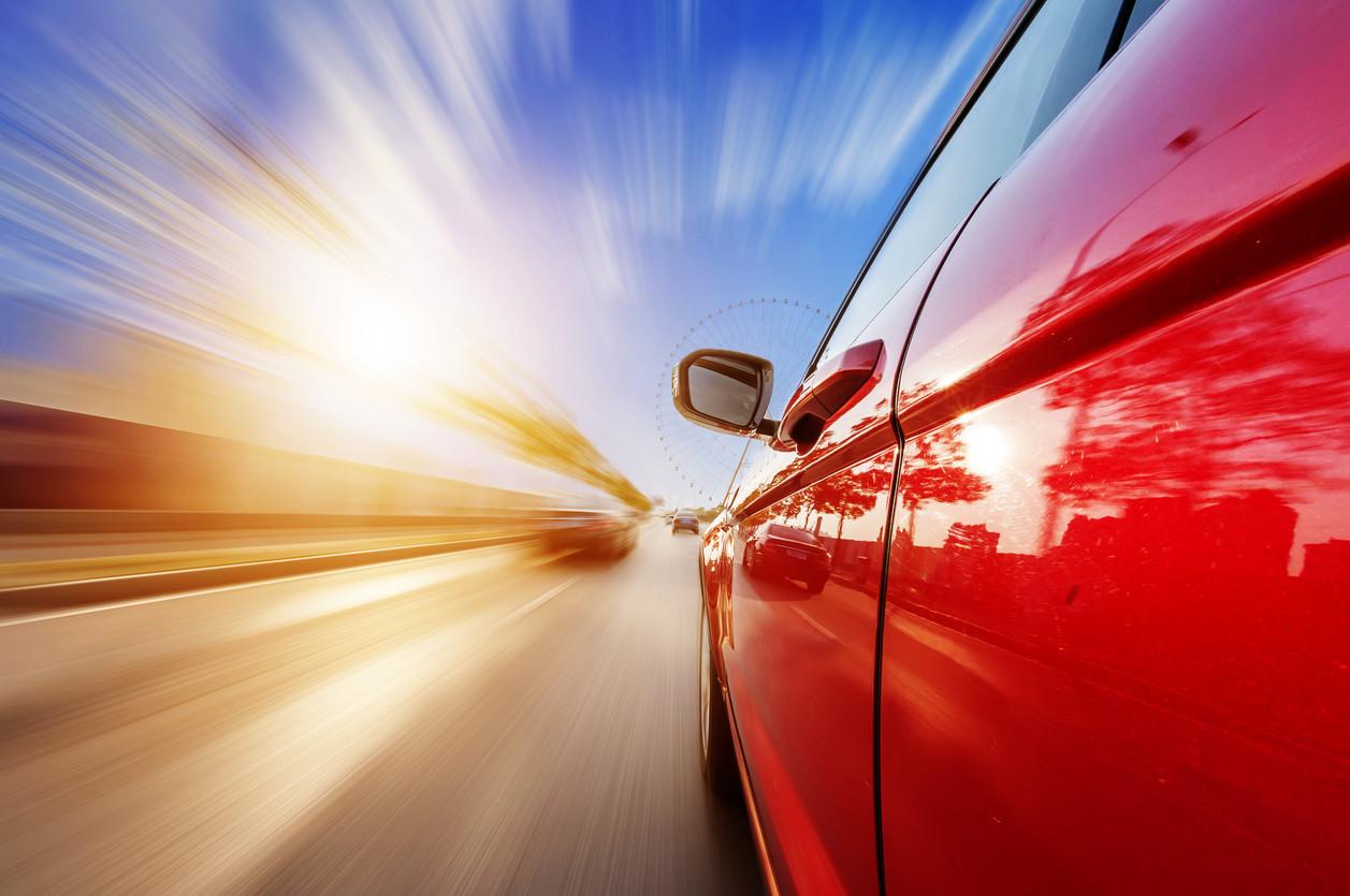 coche sensacion velocidad