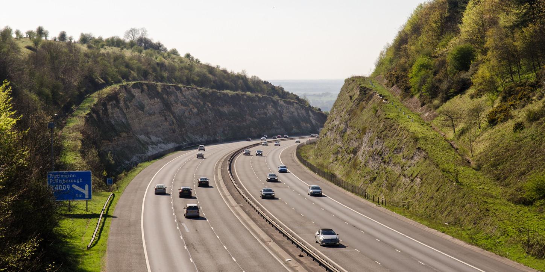 autopista tres carriles