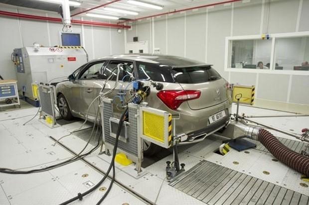 coche pasando la prueba NEDC
