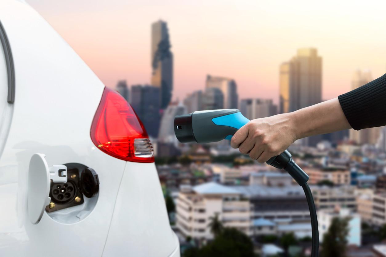 Toma de corriente de coche eléctrico